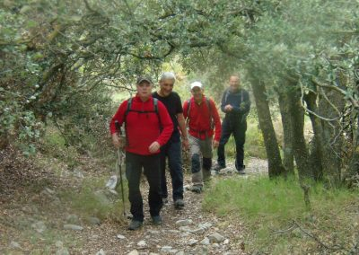 Rutas caudiel caminando senderismo