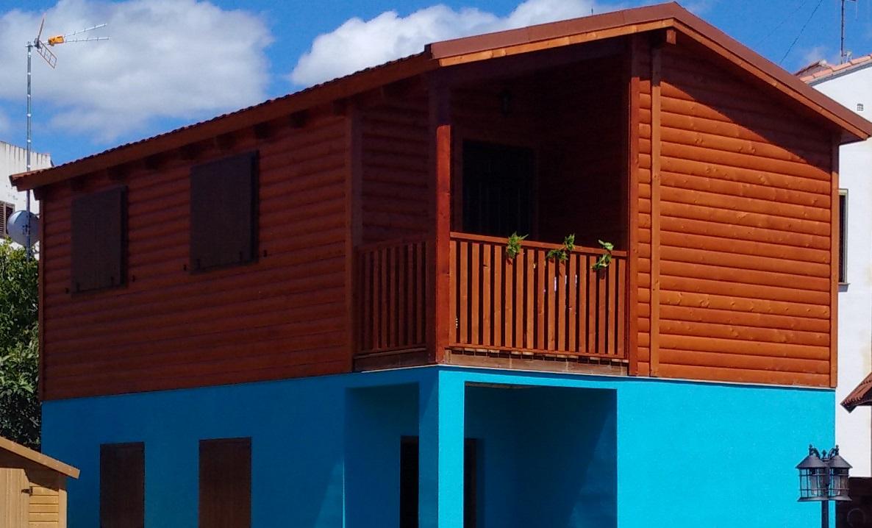 Caba a sierra caba as de madera en caudiel turismo for Cabana madera ninos